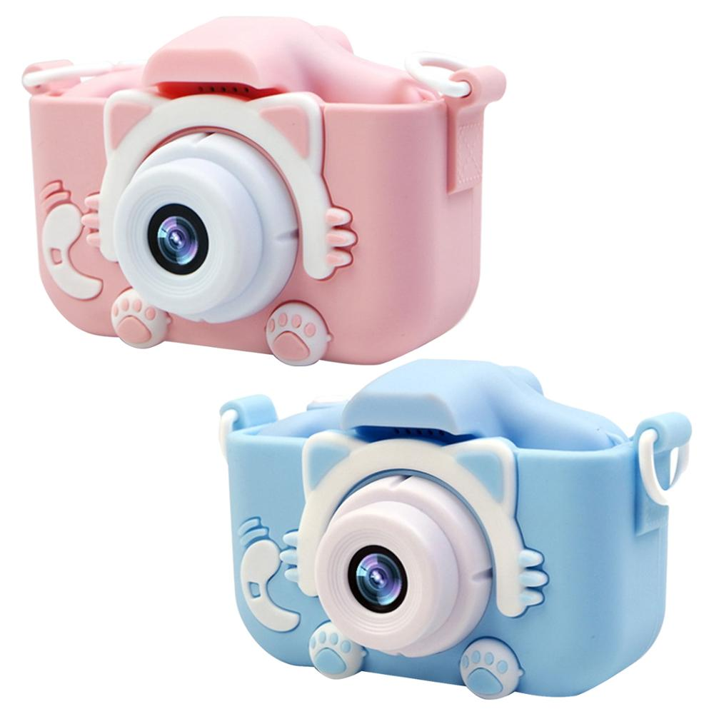 1080P 1200W Mini Cute Kids Digital Camcorder Video Camera Toys Built-in Games for Children Toddler Christmas Birthday Gifts