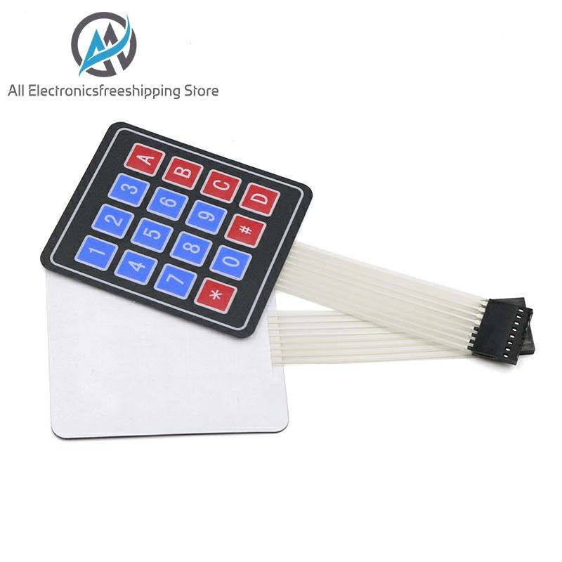 1x3 Matrix Array 3Key Membrane Switch Keypad Keyboard 1*3Key 36*55mm Arduino DIY