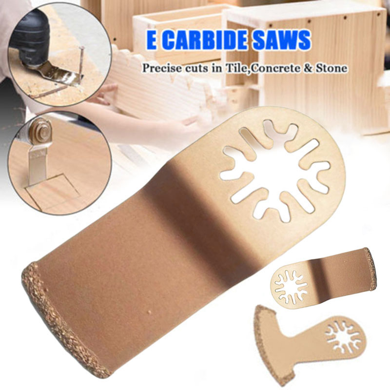 Diamond Carbide Oscillating Multi Tools For Precise Cuts In Tile Concrete Stone Multi-function Power Defective Tile Joints