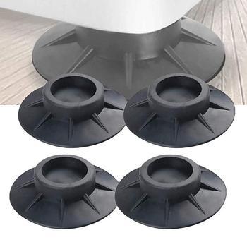 strong Import List strong 4 szt Podkładki antywibracyjne pralka obsługuje podłogi Protector Anti Walk stopy do pralki i suszarki akcesoria tanie i dobre opinie NONE CN (pochodzenie)