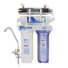 De alta Qualidade! 4 estágio Undersink Purificador de Água Potável com Sistema de Filtragem ultravioleta esterilizador o uso Da Cozinha