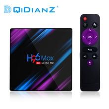 Android Mới 10 H96 MAX RK3318 Smart TV Box 2.4G & 5G Wifi BT4.0 H96Max Chơi Phương Tiện Google tiếng Nói Trợ Lý