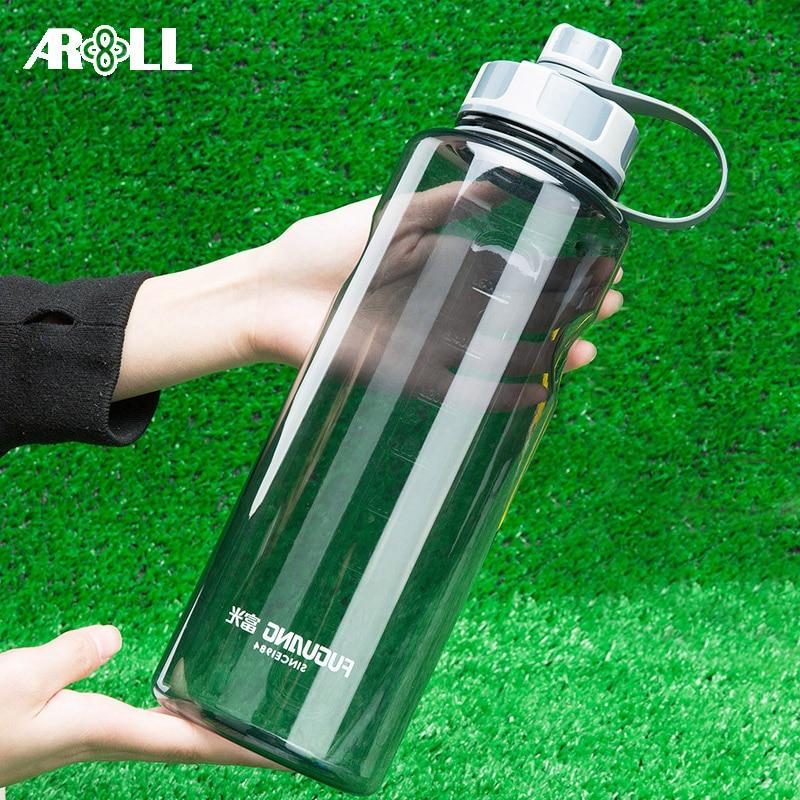 Portable Plastic Sport Water Bottle 1000ml BPA Free Direct Sport Drink Bottle Water 1500ml 2000ml with Tea Infuser 1.5L 2L|Water Bottles|   - AliExpress