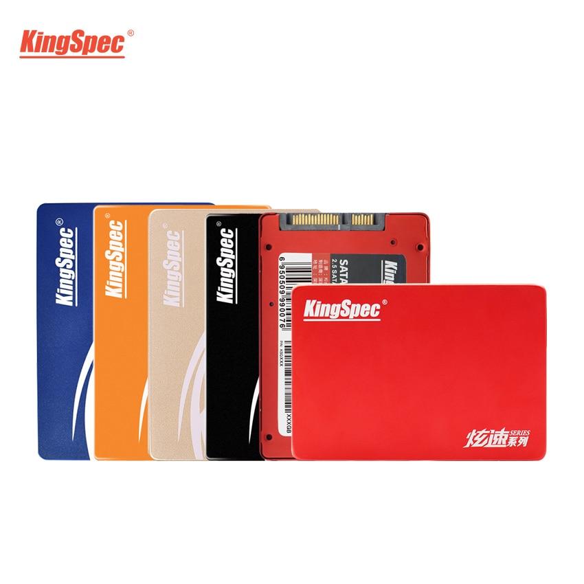 KingSpec SSD 2.5 Inch SATAII 8GB 16GB 32GB SATAIII 60GB 64GB SSD 128GB 256GB 512GB Internal HDD Disk for Laptop/Desktop/Notebook