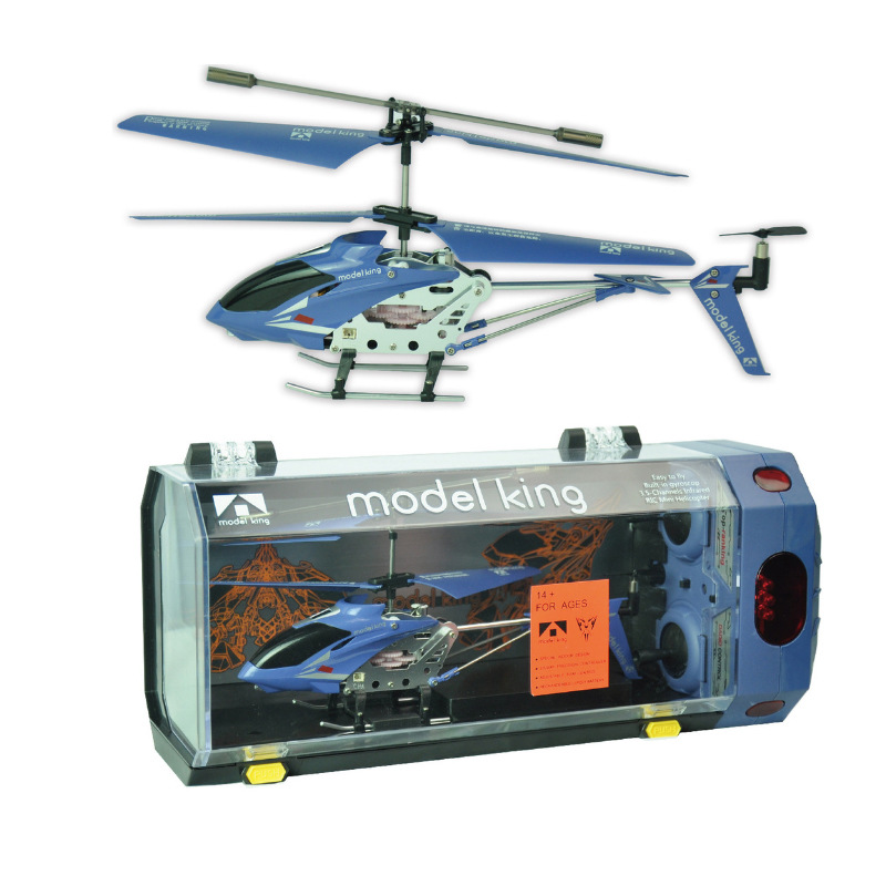 3.5 Way Drop-resistant Light Alloy Mini Remote Control Aircraft Helicopter Airplane Aircraft Model