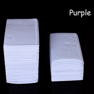 Image 4 - 125Pcs Disposable Tattoo Clean Pad Waterproof Medical Paper Tablecloths Mat Double Layer Sheets Tattoo Accessories 45*33cm