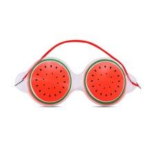 Фруктовый ледяной компресс Маска Для Глаз снимает усталость удаляет черные мешки для глаз Косметика ледяной компресс маска для глаз гель для сна защита глаз TSLM1