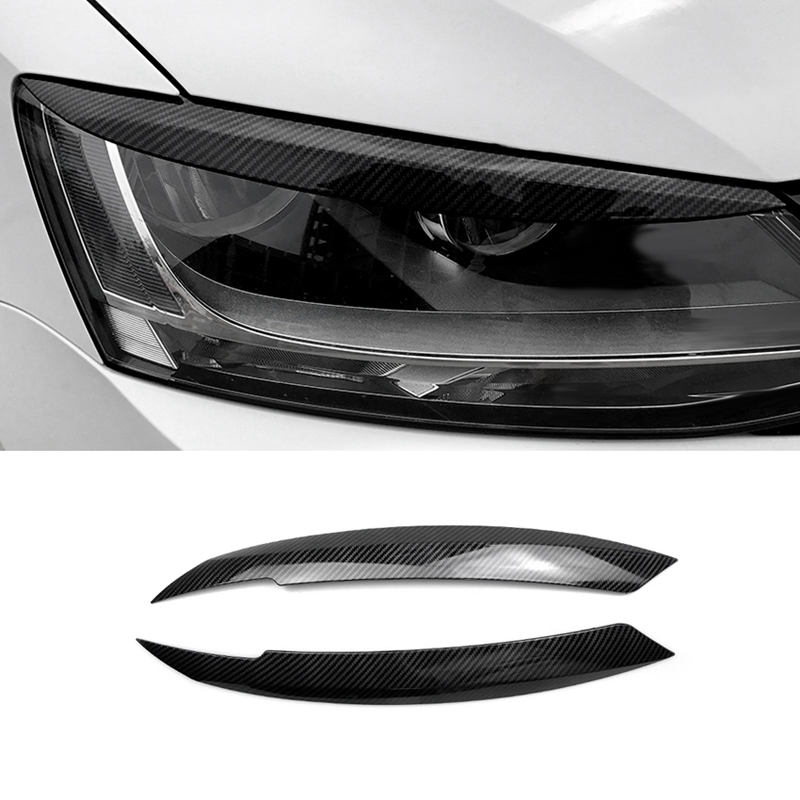 Car Headlights Eyebrow Eyelids Sticker for Volkswagen Jetta MK6 Car|Automotive Interior Stickers| |  - title=