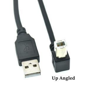 Image 4 - نوع الذكور إلى نوع B الذكور 90 درجة أعلى & أسفل & اليسار و اليمين الزاوية USB 2.0 طابعة كبل الماسح الضوئي 30 سنتيمتر 50 سنتيمتر 150 سنتيمتر 1ft 5 قدم
