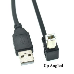 Image 4 - Type A Male to Type B Male 90 degree Up & Down & Left & Right Angled USB 2.0 Printer Scanner Cable 30cm 50cm 150cm 1ft 5 feet