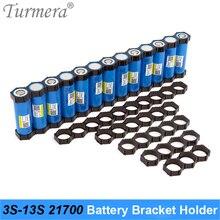 Turmera 10Piece 21700 Lithium Battery Bracket Holder 21700 Spacer 3S 4S 5S 6S 10S 13S Assemble for 36V 48V Electric Bike Battery