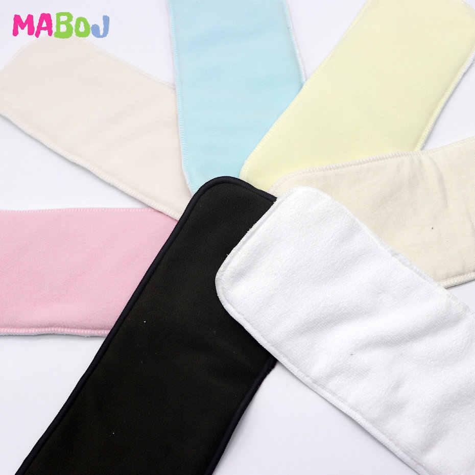 MABOJ, pañal de inserción de pañal reutilizable de microfibra, carbón de bambú, cáñamo, pañal de tela de algodón con inserción de pañal s, pañal cambiante de talla única, venta al por mayor