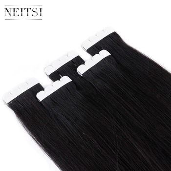 Neitsi Mini Tape In Non-Remy Human Hair Adhesive Extension 12 4