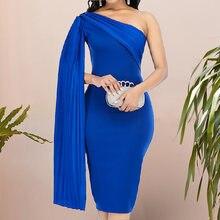 Синий элегантные вечерние платья для женское сексуальное короткое