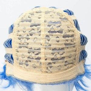 Image 5 - Descendants 3 Hades peluca corta de pelo sintético resistente al calor, disfraz de Cosplay, pelucas para fiesta de Halloween, juego de rol