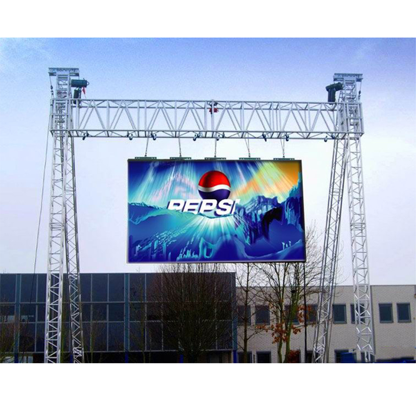 Rental Led Display Screen, P4.81mm Outdoor 500x1000mm Led Video Function Panels Waterproof Outdoor Advertising Billboard Sign