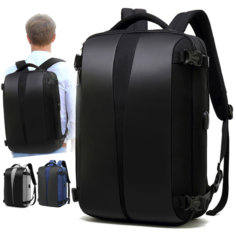 Laptop Backpack With USB Charging Anti-theft Waterproof Backpack Men Women Anti Theft Back Pack 17 Inch Notebook School Bag Male