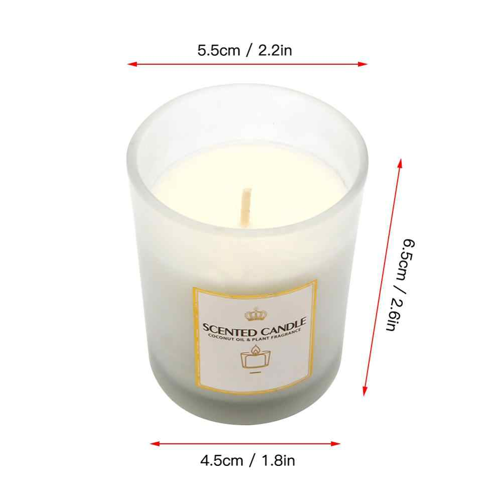 Surprising Jasmine Rose Nordic Scented Handmade Candles Home Decoration Funny Birthday Cards Online Unhofree Goldxyz