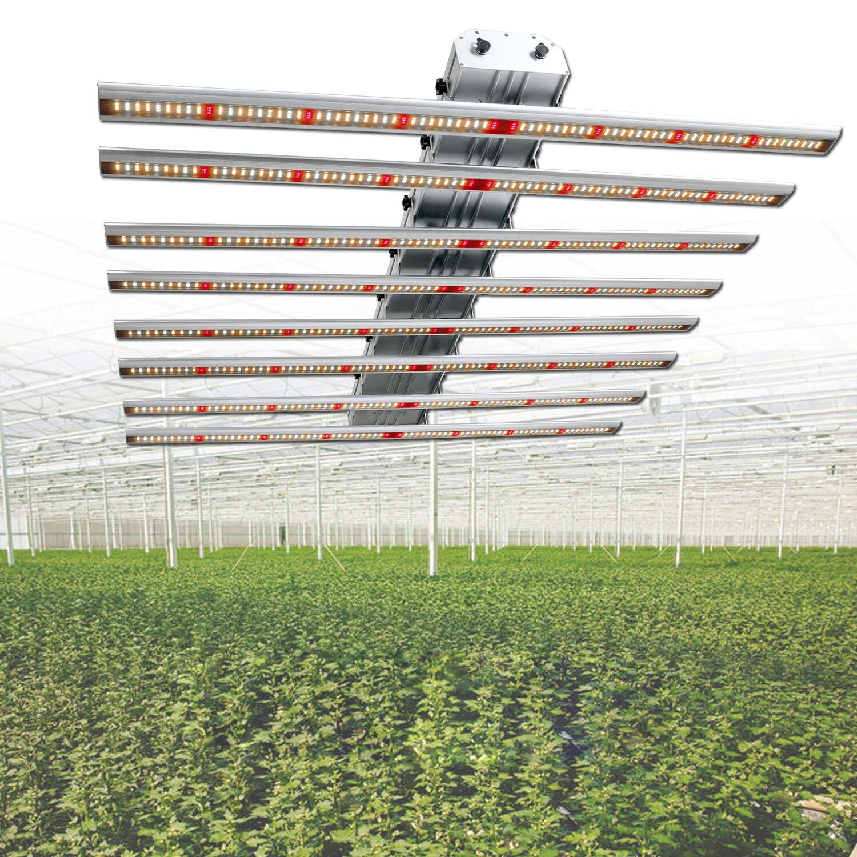 Phlizon 640 Watt Full Spectrum LED Grow Light Bar LED Strip For Plants Dual Led Chips