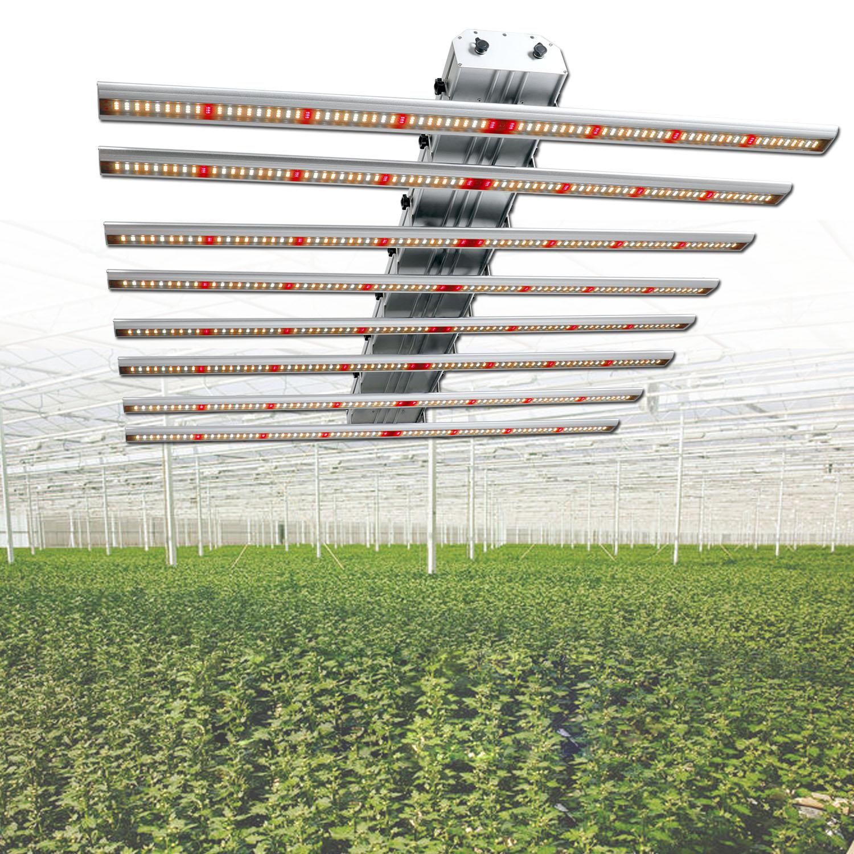 Phlizon painel de led grow 640 Watt Espectro Completo LEVOU crescer barra de Luz tira CONDUZIDA para plantas dual chips de led