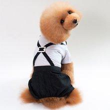 nacoco dog suit pet gents costume formal dress clothes with bow tie halloween gentleman costumes for puppy and cat Pet Suit Dress Dog Suit Gentleman Dress Wedding Dress Bow Tie Bib Dog Clothes Pet Wedding Dress Pet Suit
