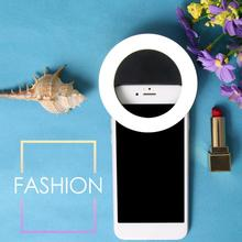 Usb Charge Led Selfie Ring Light For Iphone Supplementary Lighting Enhancing Fill Phones
