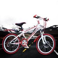 Fietsen Mountainbike 22-Inch 21-Speed Transmissie Schokdemper Schijfrem Volwassen Kinderen Fiets Racefiets