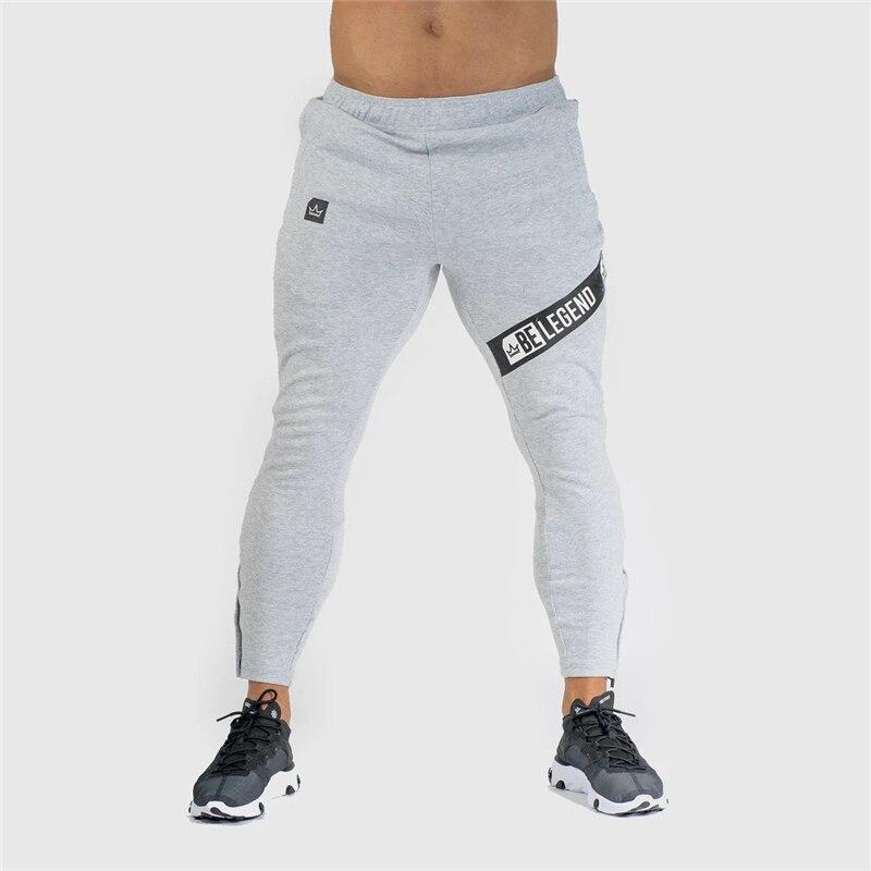 Men Joggers Sweatpants Mens Slim Casual Pants Gyms Workout Cotton Sportswear Autumn Male Fitness Crossfit Track Pants