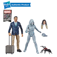 лучшая цена Hasbro Marvel Legends Series Ant-Man and The Wasp Scale Movie-Inspired X-Con Luis And Marvel's Ghost Collectible Action Figure
