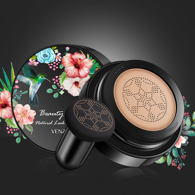 New Mushroom Head Make Up Air Cushion Moisturizing Cover Blemishes Even Skin Air-permeable Natural Brighten Makeup BB Cream TSLM