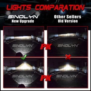 Image 4 - Sinolyn ل Hella 3R G5 عدسات المصباح 3.0 HID ثنائي جهاز عرض مزود بإضاءة زينون عدسة استبدال أضواء السيارة اكسسوارات التحديثية D1S D2S D3S D4S