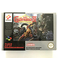 Super caslevania IV с коробкой, 16-битный игровой Картридж для консоли pal