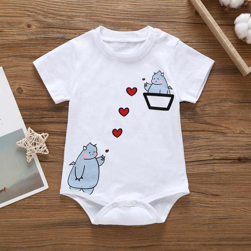 Space Robot Planet Baby Sleeveless Jumpsuit Onesies