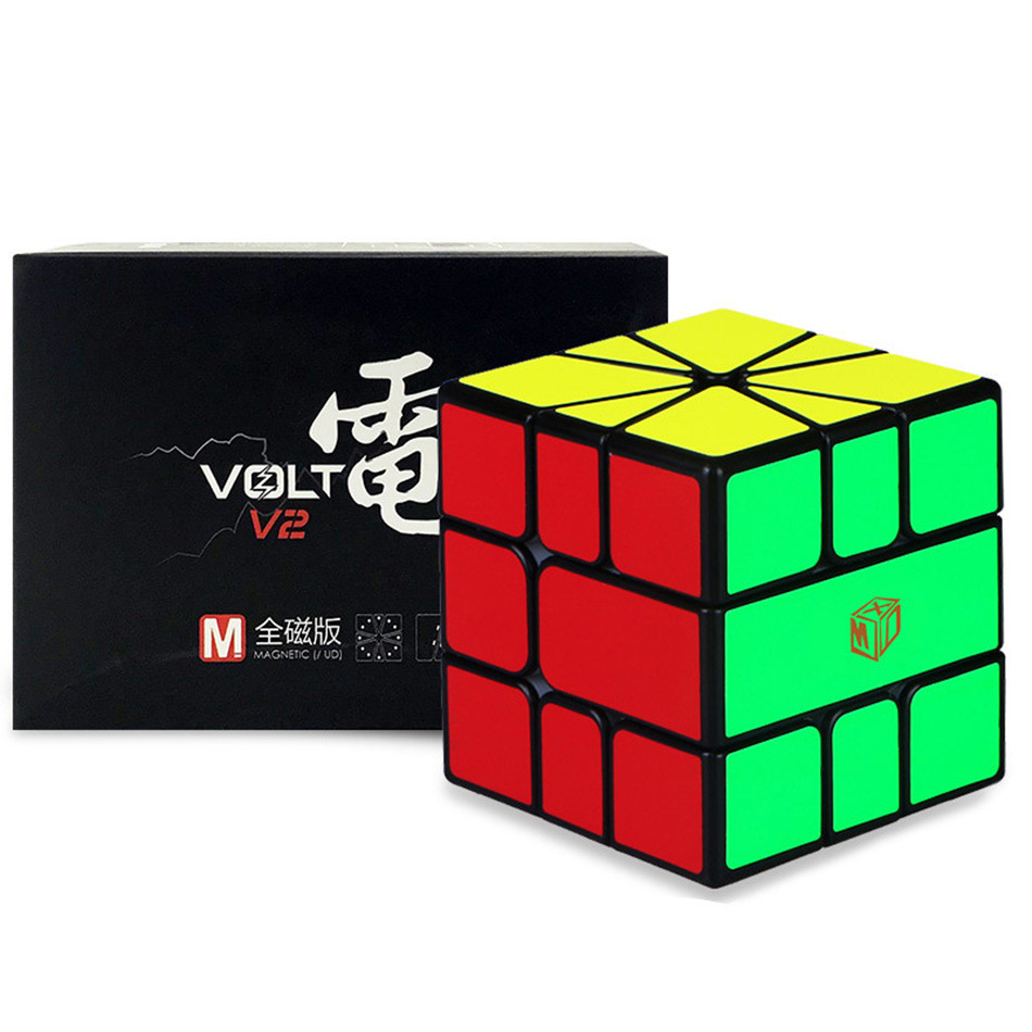 XMD volt square 1 V2 M Qiyi Mofangge Volt SQ-1 Magic Puzzle X-Man Square 1 Learning Educational Kids Toys for Children Game