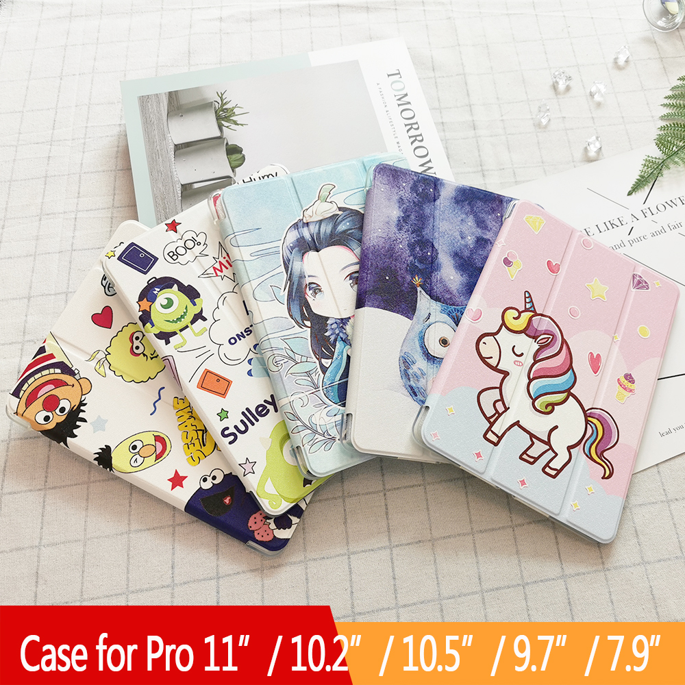 For Ipad Air 2 Air 1 Case Ipad 10.2 / Air 3 10.5 / 9.7/Pro 11 2020 / Cover For Ipad 6Th 7Th Generation Case For Ipad Mini 4 5