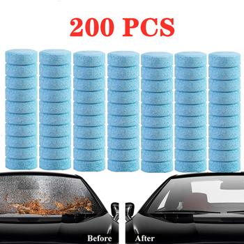 20 50 100 200 sztuk samochodów podkładka musująca tablet Auto okno czyszczenia samochodów wycieraczka lita grzywny środek do czyszczenia szyby przedniej akcesoria tanie i dobre opinie CN (pochodzenie) Przeciw zamarzaniu 3 years 20 50 100 200 PCS 1 PCS = 4L car window glass cleaning home window glass cleaning