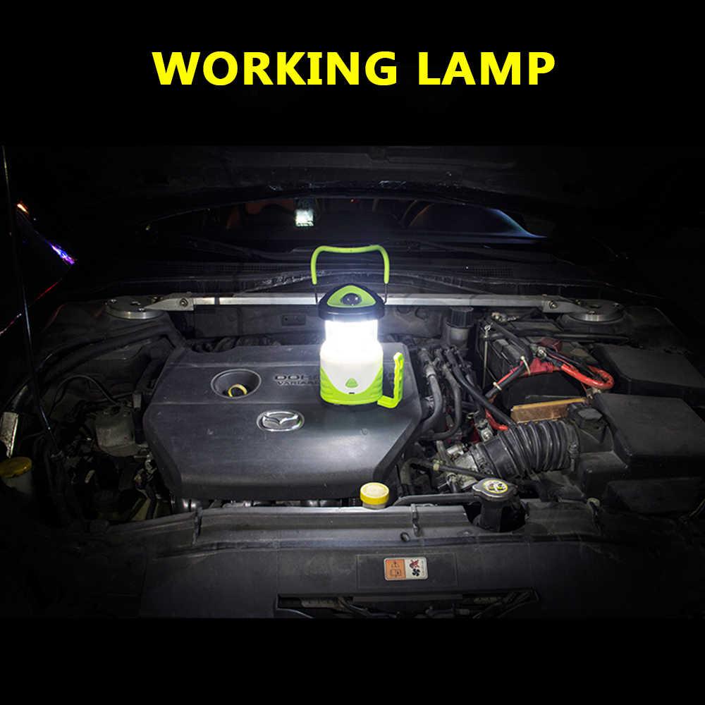Mới Đa Chức Năng Làm Đèn Kính Treo Đèn Di Động Đèn Cắm Trại Cho Trong Nhà Và Ngoài Trời Sử Dụng 3AAA 18650