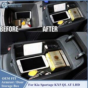 Image 4 - Schowek w podłokietniku dla Kia Sportage KX5 QL AT LHD 2016   2020 konsola środkowa Organzier schowek Tidying Storage tacka