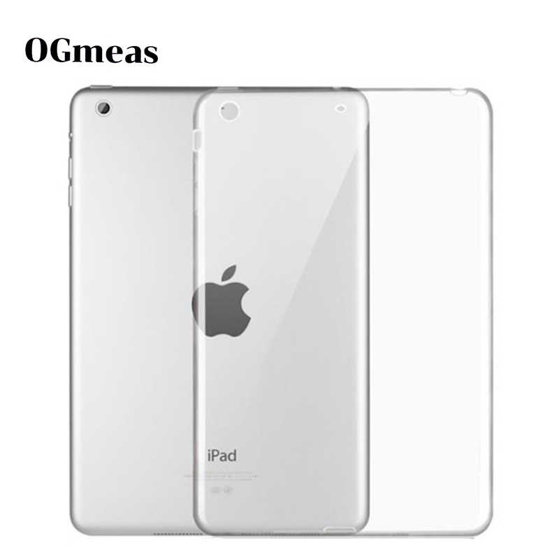 Case Voor Ipad 9.7 2017 2018 Case Tpu Silicon Transparant Slim Cover Voor Ipad Air 2 Air 1 Pro 10.5 mini 2 3 4 Coque Capa Funda