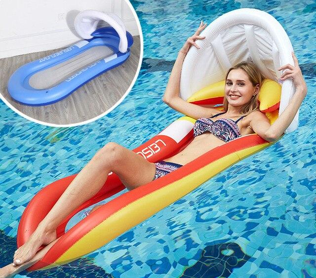 Carpa de agua, toldo, Corralitos, hamaca, piscina, colchoneta, balsas inflables flotantes, boya de natación, aire, silla para niña, niño, juguete para regalo, deporte