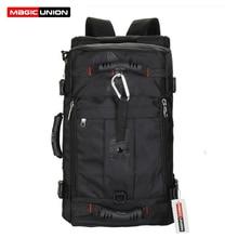 Волшебный союз Для Мужчин's дорожные сумки модные Для мужчин рюкзаки Для Мужчин's Многоцелевой Путешествия Рюкзак многофункциональная сумка на плечо