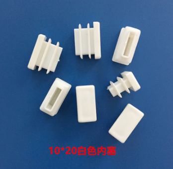 Furniture Accessories E10MM*20MM Milky White Square Plug White Plug  Plastic Square Footpad Dust-proof Plug Cover