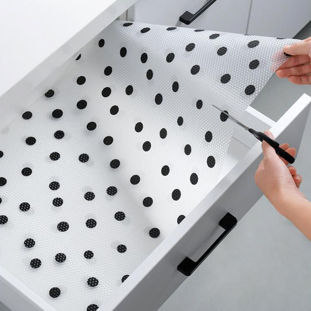 Reusable Shelf Cover Liners Cabinet Mat Drawer Mat Moisture-proof Waterproof Dust Anti-slip Fridge Kitchen Table Pad Paper Discounts Sale