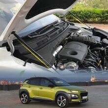 Автомобильный Стайлинг 2 шт. крышка капота гидравлическая штанга стойка штанга телескопическая штанга крышка двигателя поддержка для hyundai Kona