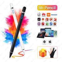 Para Apple iPad Pro 11 12,9, 10,5, 9,7, 2017, 2018 activo Stylus Touch Pen inteligente capacitancia lápiz para iPad 10,2 mini 5 4 tableta amortiguador Tech accesorio beige Rojo Negro compruebe Tartan tableta amortiguador
