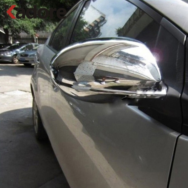 For <font><b>Mazda</b></font> <font><b>3</b></font> 6 M3 M6 <font><b>2012</b></font> 2011 2010 2009 Chromed Side Door Rearview Mirror Cover Trim Car Exterior <font><b>Accessories</b></font> image