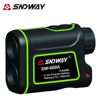 SNDWAY-telémetro telescópico con batería de litio, 600M, 1000M, 1500M, máquina todo en uno, medición de distancia y ángulo, velocidad de altura