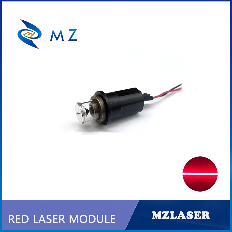 Red Line Laser Diode Module 650nm 100mw 360 Degree Industrial Grade For Laser Level
