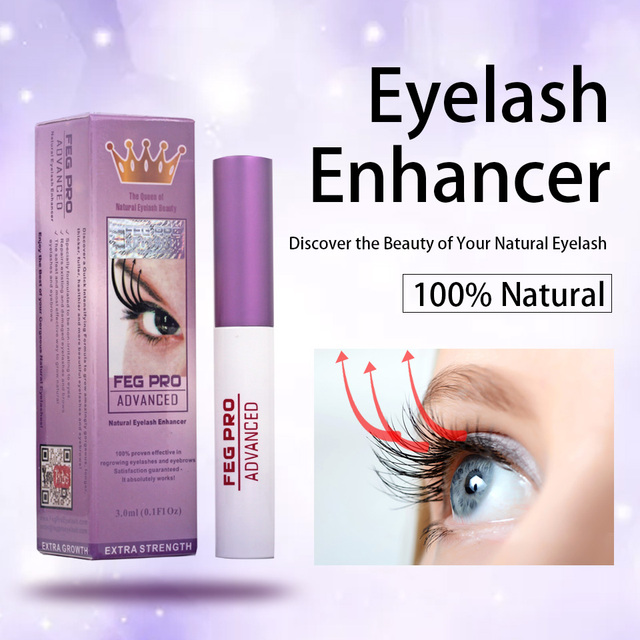 FEG Eyelash Growth Serum 100% Original Eyelash Growth Natural Lash Medicine Treatments Mascara Lengthening Longer Eyebrow Growth 2