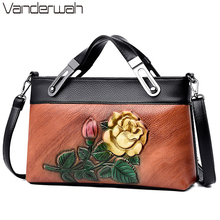 Torba na kwiaty w stylu chińskim 3D luksusowe torebki damskie torebki projektant panie torebki na ramię Crossbody dla kobiet Totes Sac A Main